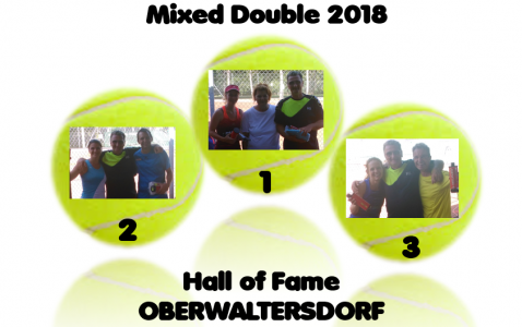 Mixed Double 2018