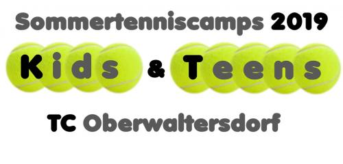 Tenniscamps Sommer 2019